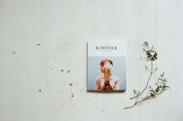 Kinfolk Magazine Vol. 7 he contributed to almost every other Volume too, but he's never shot the cover storys pictures before. A celebration of creativity, pastel colors and spring in general. What more could you ask for?
